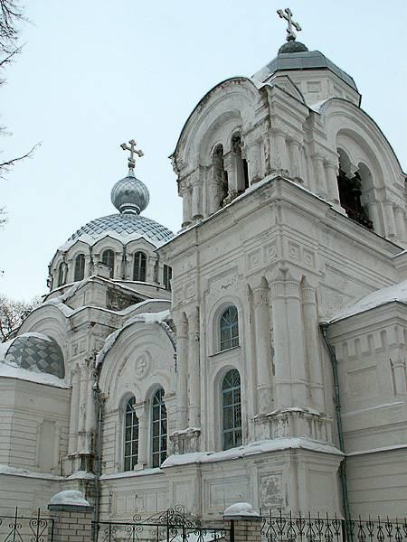 Белая церковь в январе 2008 г .