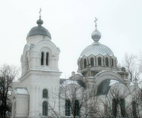 Белая церковь в январе 2008 г.