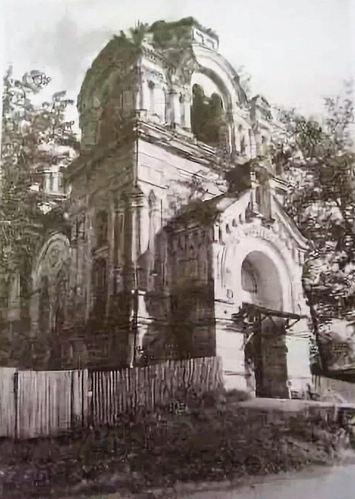 Храм в 70-е годы