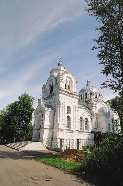 Церковь Воскресения Христова - Вичуга