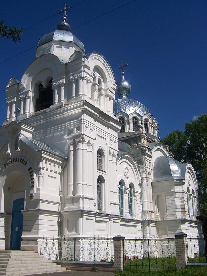 Свято-Воскресенский храм, Белая церковь г. Вичуга