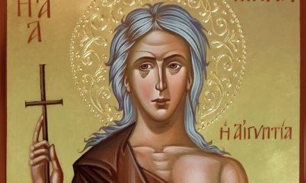 Преподобная Мария Египетская (†522)