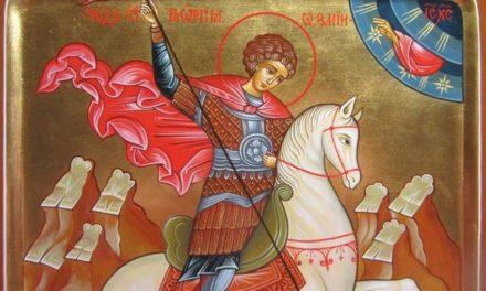 Святой великомученик Георгий Победоносец (†303)