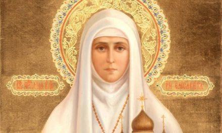 Святая преподобномученица великая княгиня Елисавета (†1918)