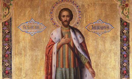 Святой благоверный князь Александр Невский (†1263)