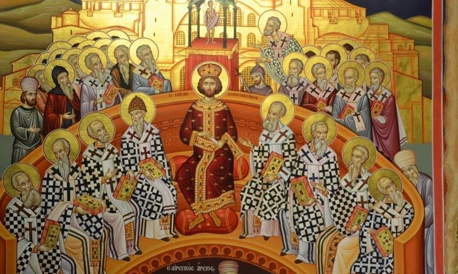 Неделя 7-я по Пасхе, святых отцев Первого Вселенского Собора
