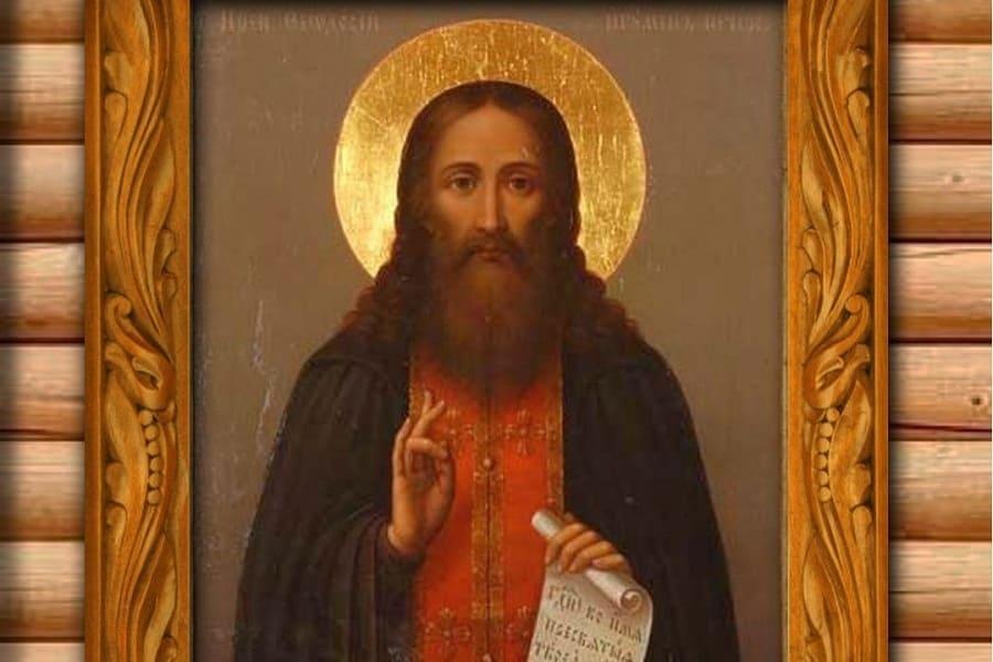 Преподобный Феодосий Печерский (†1074)
