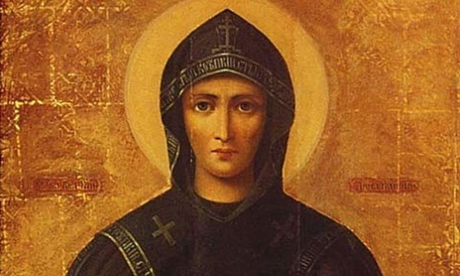 Святая благоверная великая княгиня Анна Кашинская (†1368)