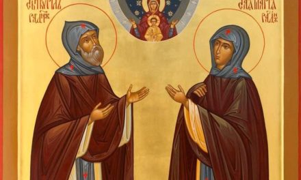 Преподобные Кирилл и Мария Радонежские, родители преподобного Сергия Радонежского (†1337)