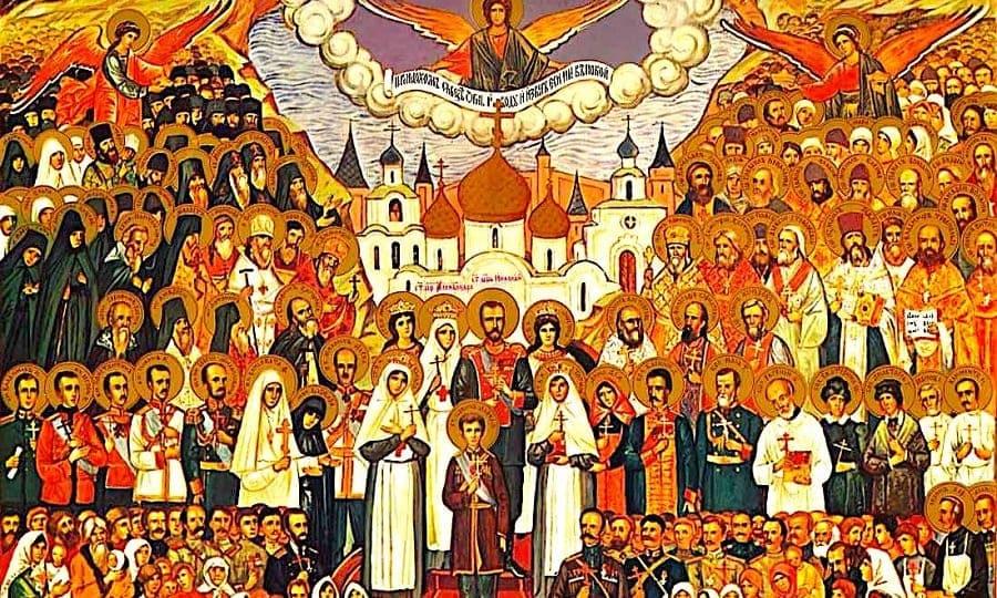 Неделя Всех святых, в земле Российской просиявших