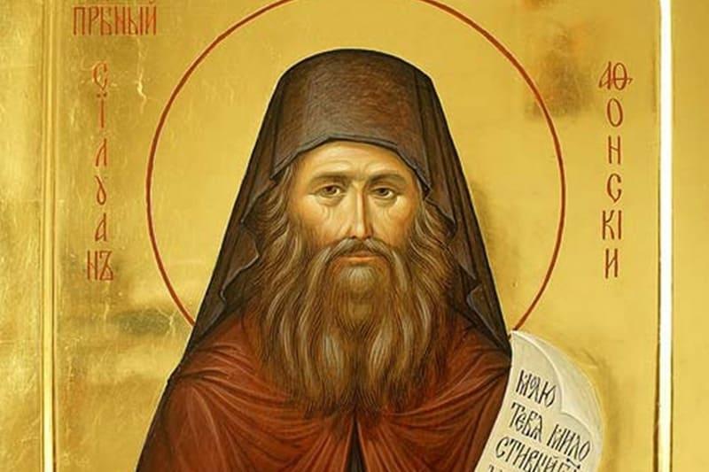 Преподобный Силуан Афонский (†1938)