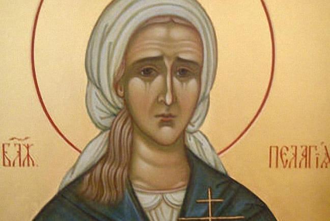 Блаженная Пелагея Дивеевская (†1884)