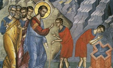 Толкование воскресного Евангелия. Неделя 6-я по Пасхе, о слепорожденном