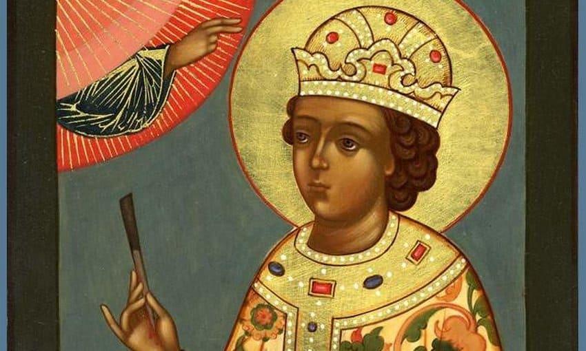 Святой благоверный царевич Димитрий Угличский (†1591)