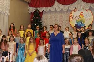 Рождественский концерт в детской школе искусств