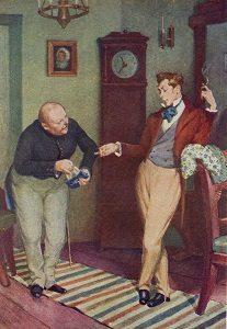 Иллюстрация к комедии Н.В. Гоголя «Ревизор»