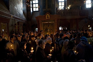 еликопостная служба в Сретенском монастыре. Фото: М. Родионов / Православие.Ru