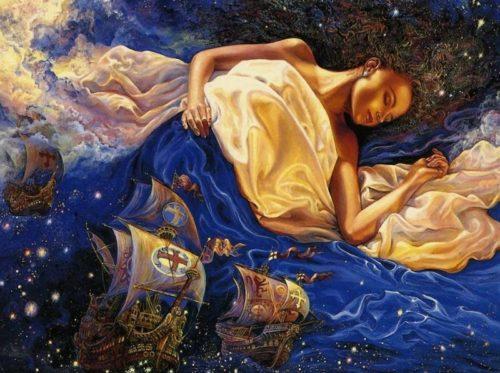 Картина Жозефины Уолл (Josephine Wall