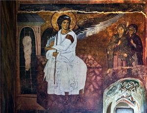 Белый ангел. Монастырь Милешева, Сербия