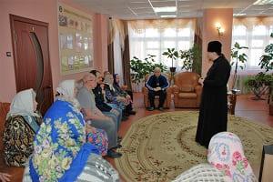 День православной книги в отделении временного проживания граждан пожилого возраста и инвалидов