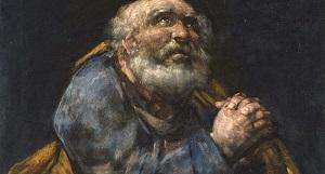 Гойя, Раскаявшийся святой Петр (1823-25 г.)