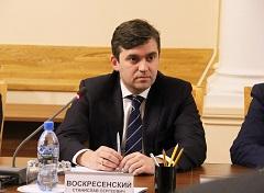 Губернатор Ивановской области С.С. Воскресенский