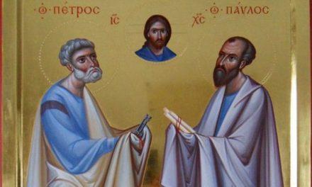 О великом подвиге первоверховных апостолов Петра и Павла