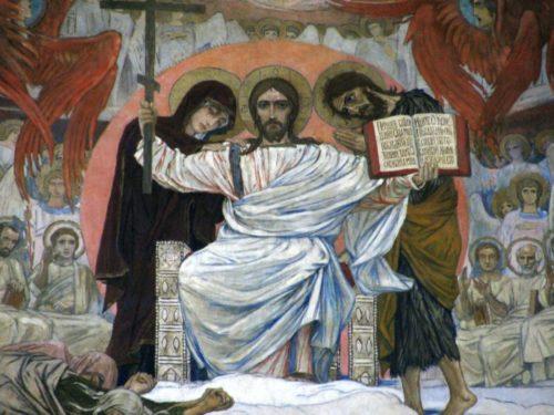 Страшный суд (фрагмент росписи Владимирского собора) Василий Васнецов. 1904