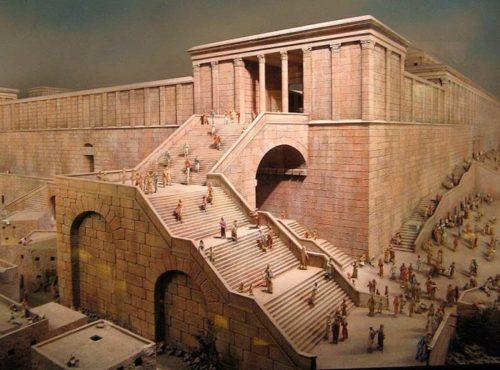 Вход на Храмовую гору в древнем Иерусалиме