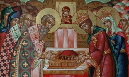 Положение честной ризы Пресвятой Богородицы во Влахерне (V век)