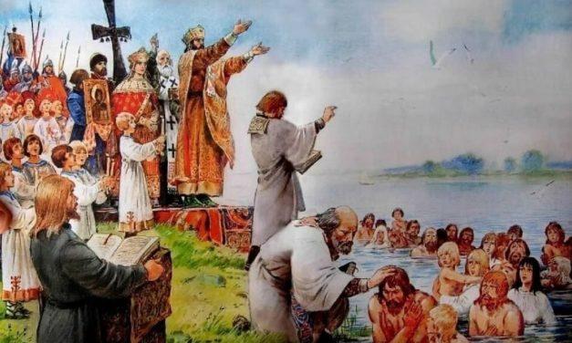 Крещение Руси: о «плохих» христианах и «добрых», «просвещенных» язычниках