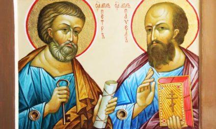 Праздник святых первоверховных апостолов Петра и Павла