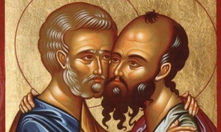 Святые первоверховные апостолы Пётр и Павел: единство в любви ко Христу