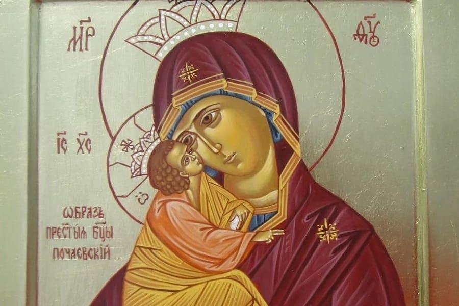 Икона Божией Матери «Почаевская»