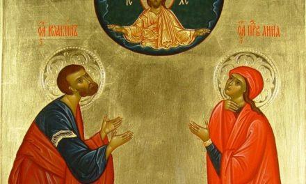 Иоаким и Анна – пример надежды на Бога и твердой веры