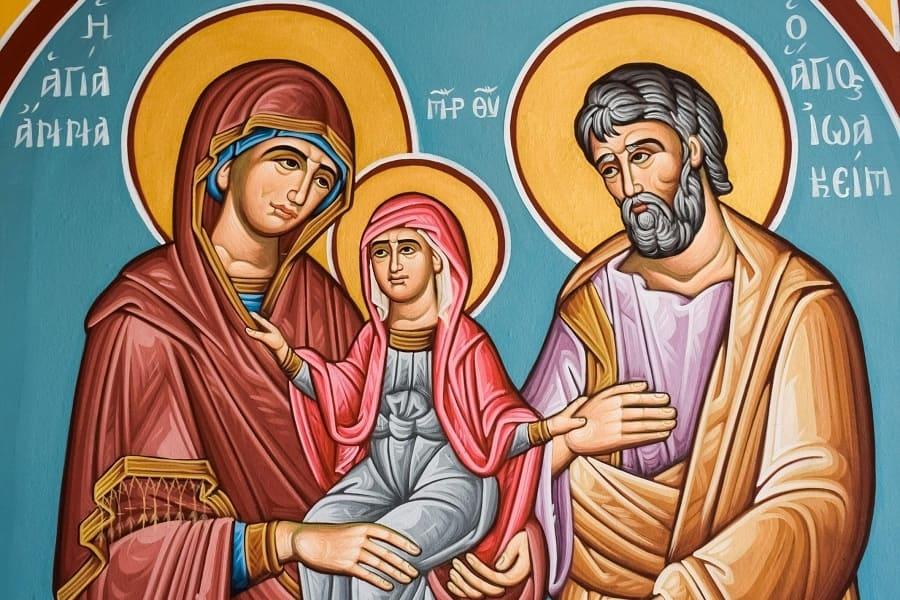 22 сентября — день памяти праведных Богоотец Иоакима и Анны