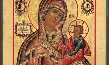 Шуйская-Смоленская икона Божией Матери