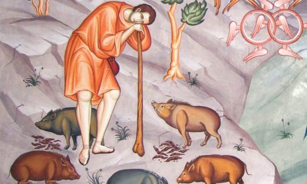 Словарь богослужения: Неделя о блудном сыне