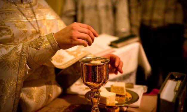 7 таинств Церкви: Евхаристия. То, ради чего служат Литургию